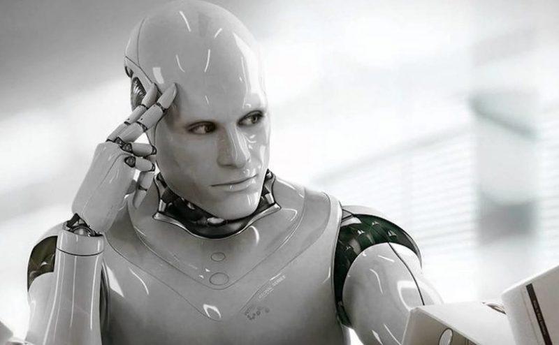 tänkande robot IOT